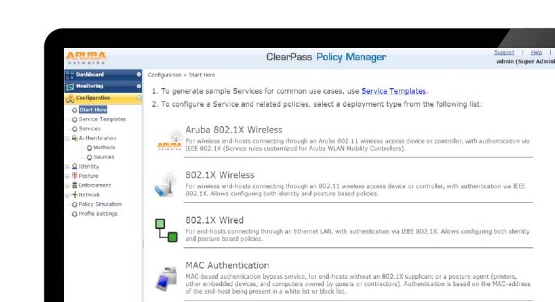Jual Aruba ClearPass Policy Manager