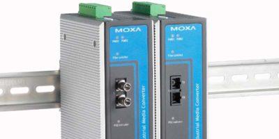 Jual Moxa Industrial Media Converters IMC-21GA Series