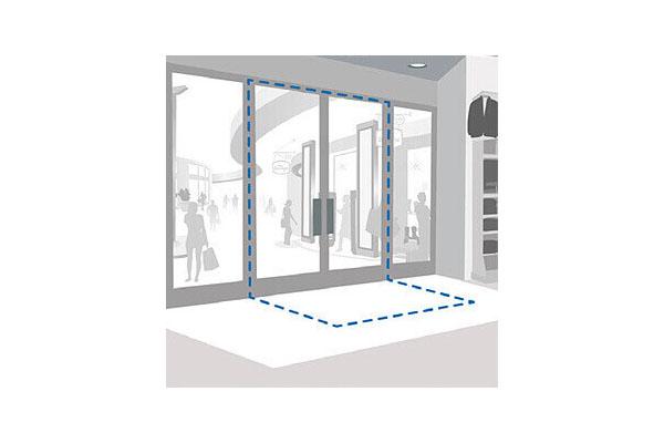 Jual Sensormatic Synergy 2.4m Concealed Door