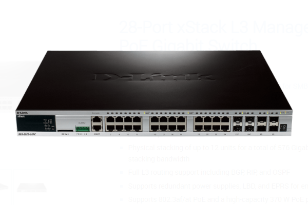 Jual D-Link DGS-3620-28PC Managed Switch